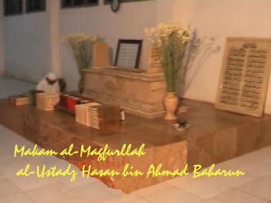 Makam al-Maghfurlah al-Ustadz Hasan bin Ahmad al-Baharun